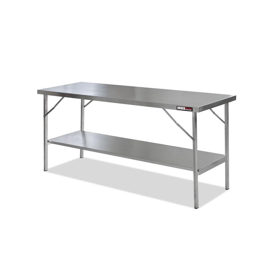 Aluminium table t2 tavolo pieghevole in alluminio order shop for Tavolo in alluminio